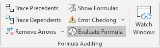 Formulas in Excel 365