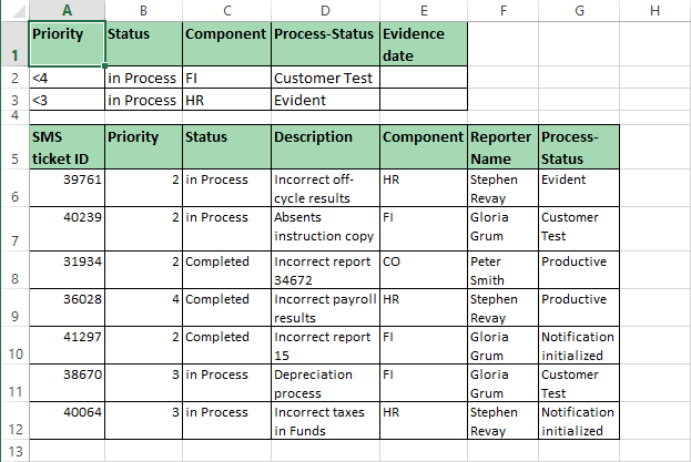 OR criteria range in Excel 2013