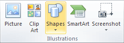 Illustrations in Excel 2010