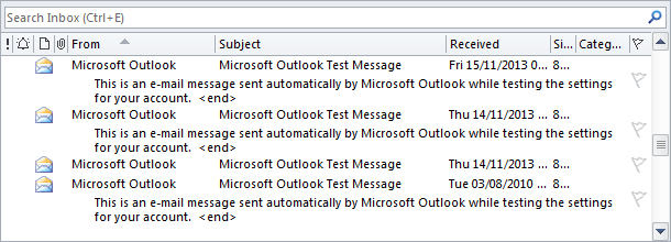 Preview in Outlook 2010