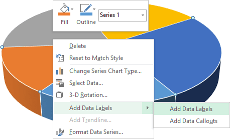 popup menu in Excel 2013