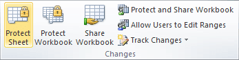 Changes in Excel 2010