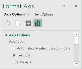 Text Format in Excel 365