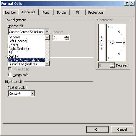 Format Cells in Excel 2007