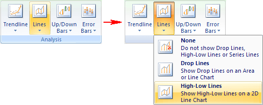 Lines in Excel 2007
