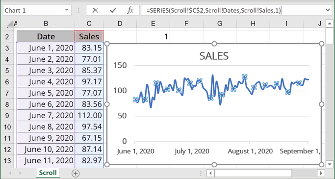 New formula for Chart Series in Excel 365