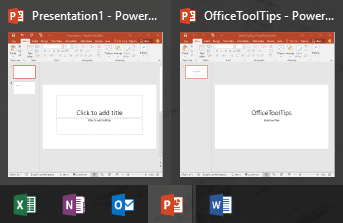 Working with Multiple Presentations - Microsoft PowerPoint 2016