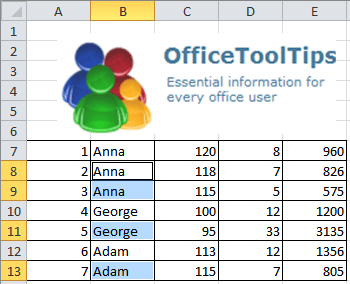 Formula bar in Excel 2010