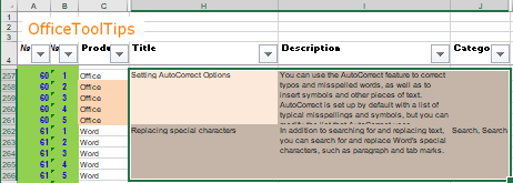Set Print Area example in Excel 365