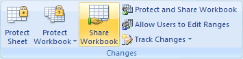 Share Workbook in Excel 2007