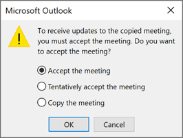 Message in Outlook 365