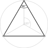 Equilateral triangle in Office 2016