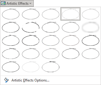 Pencil Sketch effect in PowerPoint 365