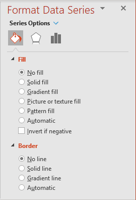 No fill and no line in PowerPoint 365