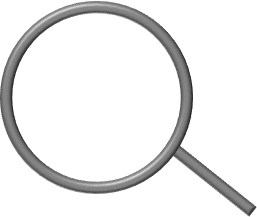 A magnifying glass in PowerPoint 365