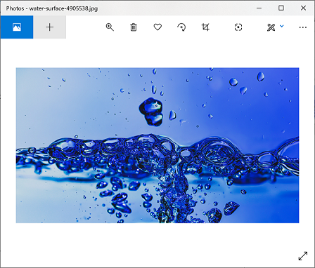 Window Snip of Snipping Tool in Windows 10