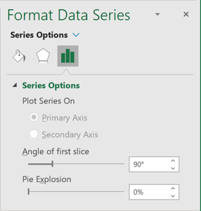 Series Options in Excel 365