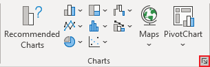 Charts in Excel 365