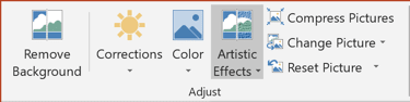Artistic Effects in PowerPoint 2016