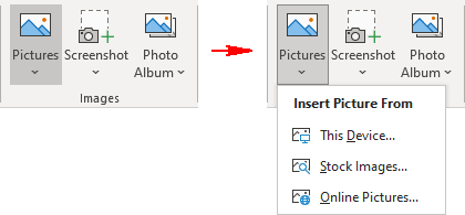 Pictures in PowerPoint for Microsoft 365