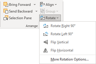 Rotation in PowerPoint 365