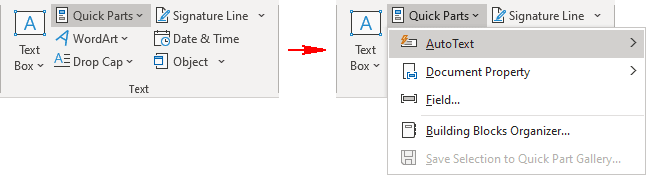 Text in Word 365