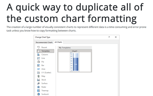 A quick way to duplicate all of the custom chart formatting