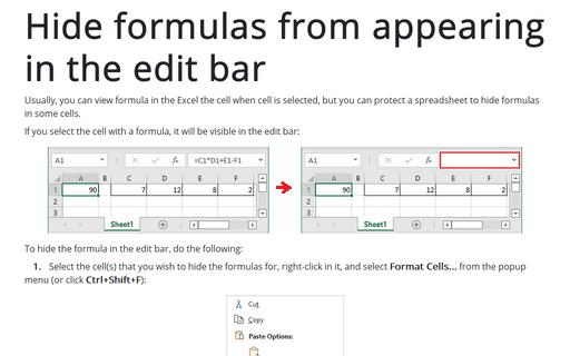 Excel Formula Evaluator - Microsoft Excel 2016